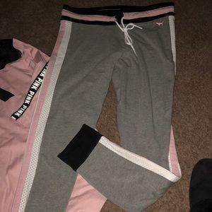 Victoria secret pink leggings only ❤️ size large